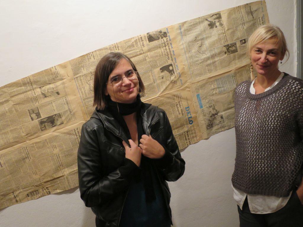 Aleksandra Saška Gruden (desno)