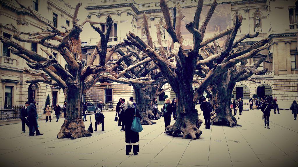 ai wei wei drevo