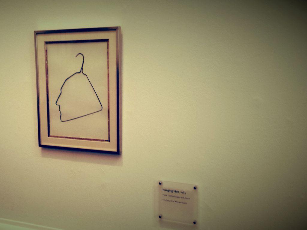 Ai Weiwei Obešeni človek (Duchamp)